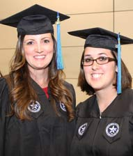 masters and certification graduates